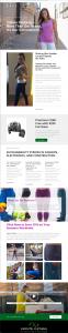 Infinite Clothing newsletter v1n3 email image