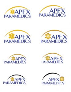 Apex Paramedics logo concepts 3 image
