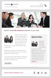 Ashton Tweed email with sidebar