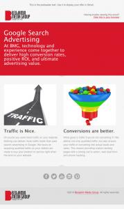 Benjamin Media Group email image