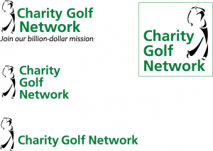Charity Golf Network logo concepts image