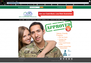 CommandHomeMortgage.com website image