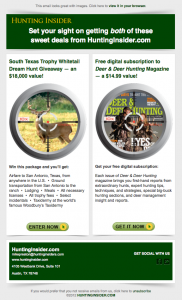 Hunting Insider Set Your Sights email image