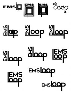 EMS Loop logo concepts image