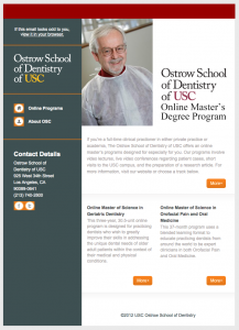 Ostrow School of Dentistry of USC email image
