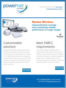 PowerNet Global product details email image
