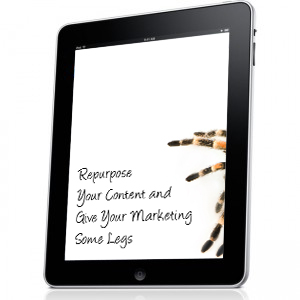 Repurpose Your Content and Give Your Marketing Some Legs cover image