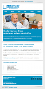 Sheally Insurance Group dental office email image