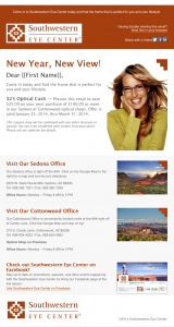 Southwestern Eye Center email image
